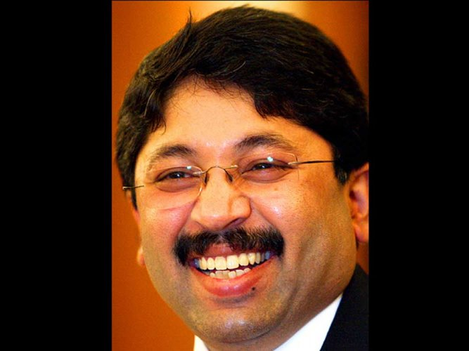 """The Supreme Courton Monday dismissed former Union telecom minister Dayanidhi Maran's plea and asked him to face trial in the case connected to the alleged setting up of """"illegal"""" telephone exchanges to benefit his brother Kalanithi Maran's Sun TV Network. DH file photo"""