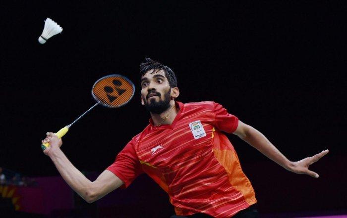 Kidambi Srikanth will face Spain's Pablo Abian next. PTI file photo.