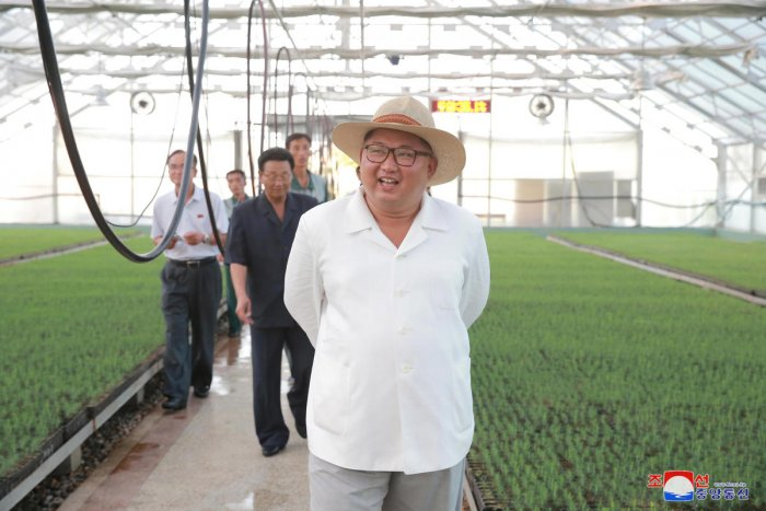North Korean leader Kim Jong Un. (File Photo by KCNA via REUTERS)