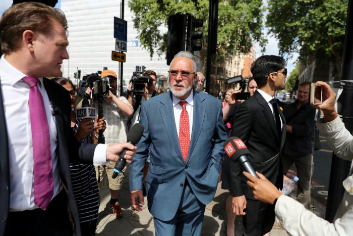 Vijay Mallya leaves Westminster Magistrates court in London, Britain, July 31, 2018. REUTERS