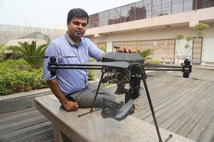 Akash Sinha, founder, Omnipresent Robot Tech