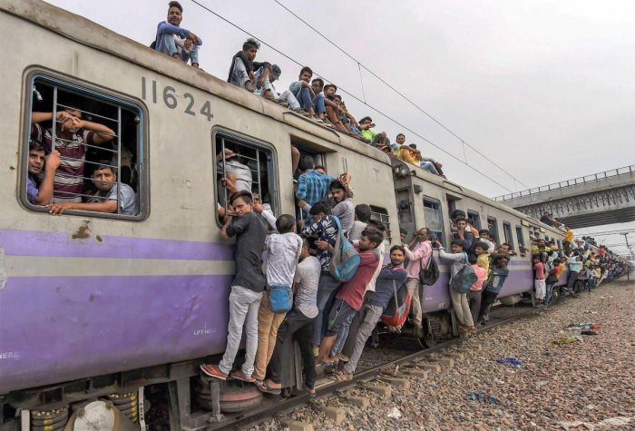 India's population growth rate is highly overestimated by existing models, say scientists who suggest that accounting for the diversity and differences in the levels of education among people can help arrive at more accurate projections. PTI file photo