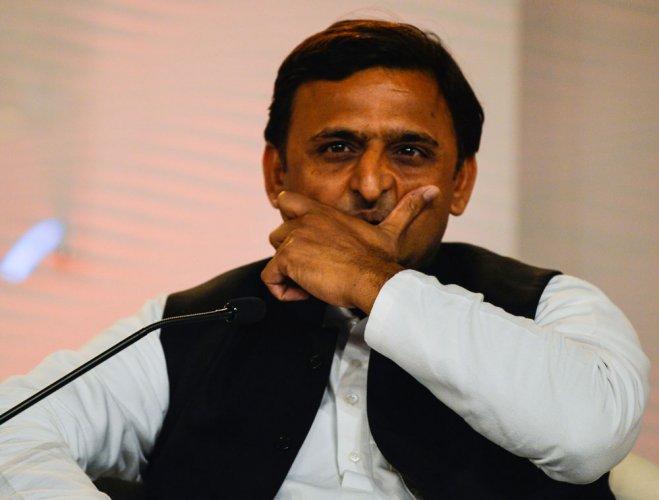 Former Uttar Pradesh chief minister and Samajwadi Party (SP) supremo Akhilesh Yadav. PTI file photo