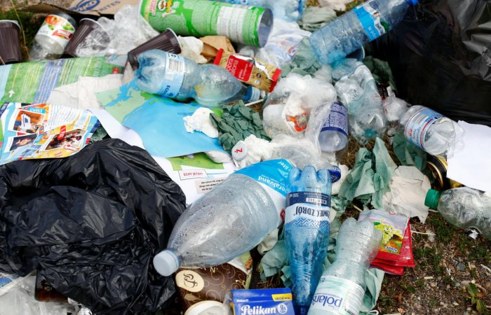 While serving many applications because of their durability, stability and low cost, plastics have deleterious effects on the environment. (Reuters File Photo)