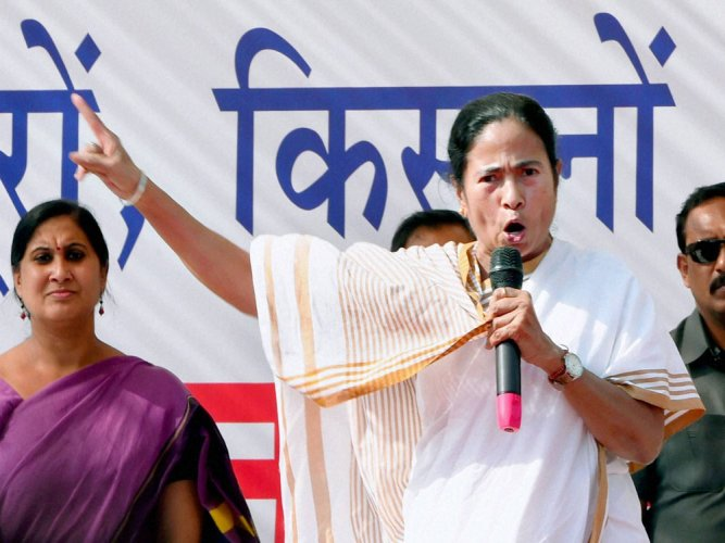 Trinamool Congress chief and West Bengal Chief Minister Mamata Banerjee. (PTI File Photo)