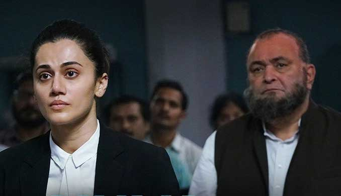 A scene from the film 'Mulk'. Image courtesy Twitter