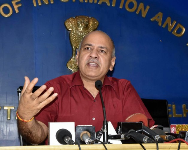 Sisodia has forwarded the letter to D S Pandit, director of higher education, to take appropriate action in the matter. (PTI file photo)