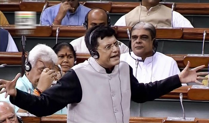 Piyush Goyal (PTI file photo)