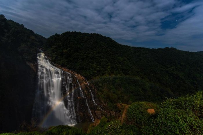 A sight to behold Moonbow at Unchalli Falls. Sriharsha Ganjam