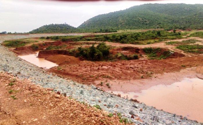 Many lakes in Tarikere taluk are not full even in rainy season.