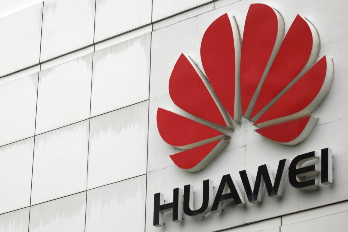 The logo of the Huawei Technologies Co. Ltd. is seen outside its headquarters in Shenzhen, Guangdong province. (Reuters File Photo)