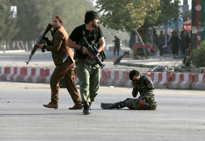 A suicide bomb attack near a Shi'ite mosque in Afghanistan killed at least 10 people during Friday prayers, injuring 15, police and health officials said, with the number of casualties expected to rise. Reuters file photo