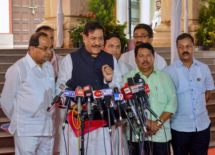 Former Maharashtra Chief Minister Prithviraj Chavan on Saturday accused the BJP government of working hand in glove with global tech giants and turning Aadhaar into a surveillance tool. PTI file photo