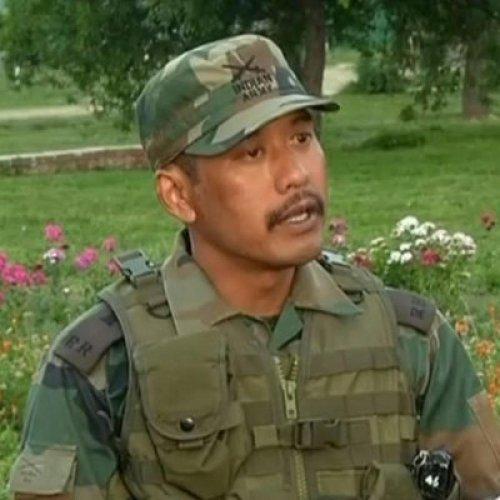Major Leetul Gogoi. Twitter