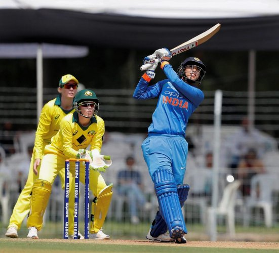 Smriti Mandhana smashed a 60-ball-hundred as she powered Western Storms to an easy seven-wicket win over Lancashire Thunder. PTI FILE PHOTO