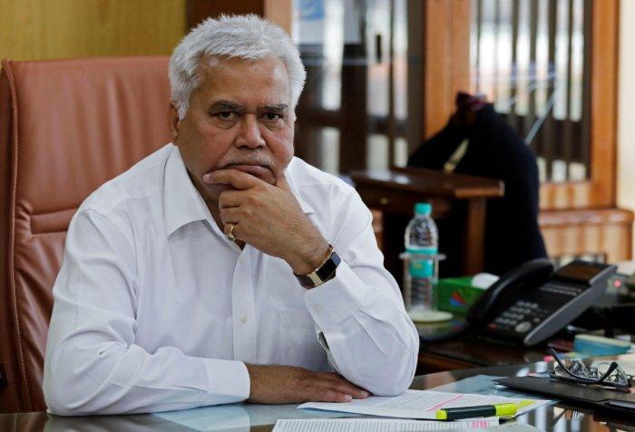 R. S. Sharma, head of Telecom Regulatory Authority of India (TRAI). REUTERS file photo.