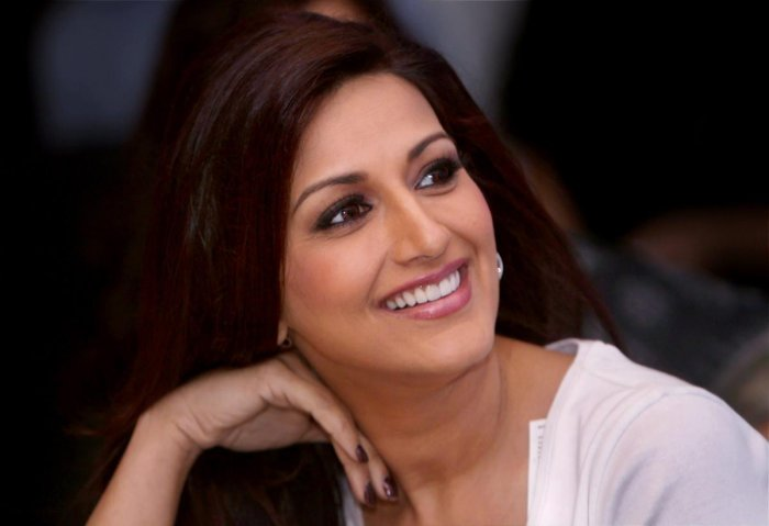 Bollywood actor Sonali Bendre. PTI file photo.