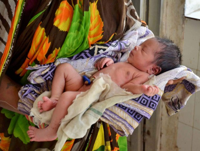 Almost half of the districts in India are not on track to reduce the mortality rates of newborns and meet the target set under the Sustainable Development Goals for 2030, a study has found. PTI file photo