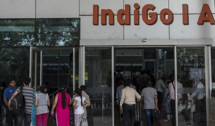 A New Delhi-bound IndiGo flight from Jaipur International Airport was delayed by nearly 40 minutes after a passenger raised a hoax bomb threat following an altercation with the airline staffers today, an official said. Picture courtesy Twitter