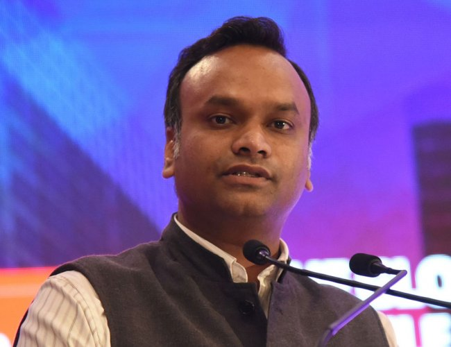 Social Welfare Minister Priyank Kharge. DH file photo