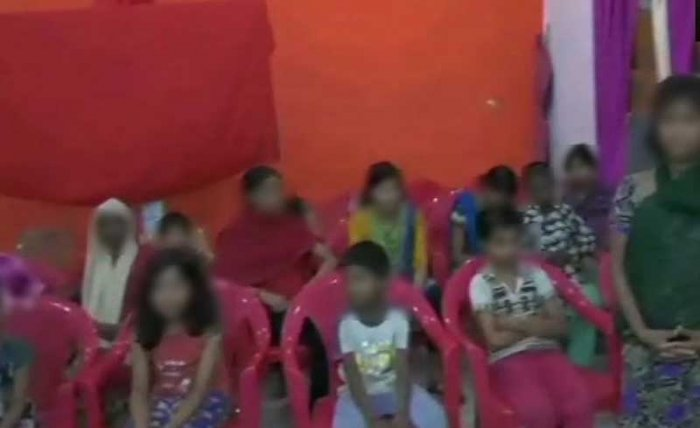 This case comes close on the heels of alleged sexual abuse of young girls at a state-funded shelter home in Bihar's Muzaffarpur. (Image: ANI/Twitter)