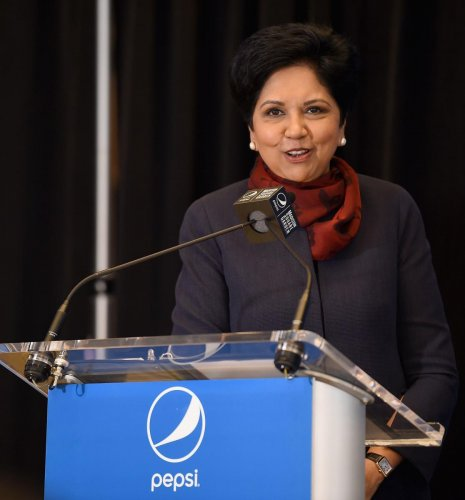 Nooyi, 62, who has been with the company for 24 years, will continue as chairman of the board until early 2019. AFP Photo