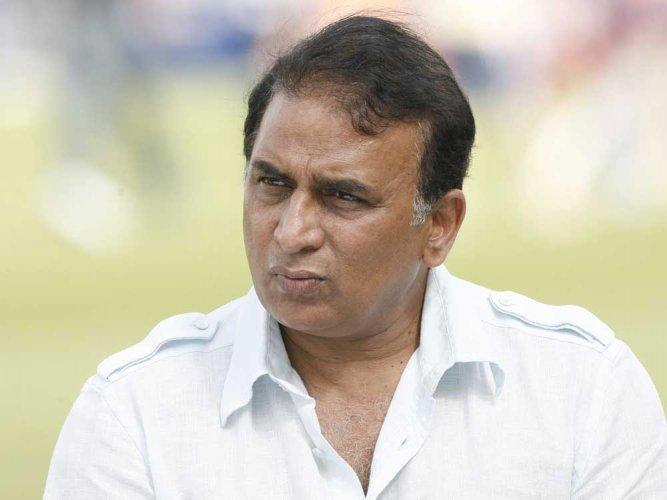 Sunil Gavaskar. DH file photo.
