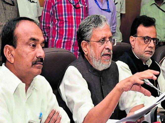 Bihar Deputy Chief Minister Sushil Kumar Modi. (DH File Photo)
