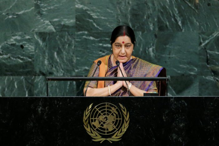 Indian External Affairs Minister Sushma Swaraj. (REUTERS File Photo)