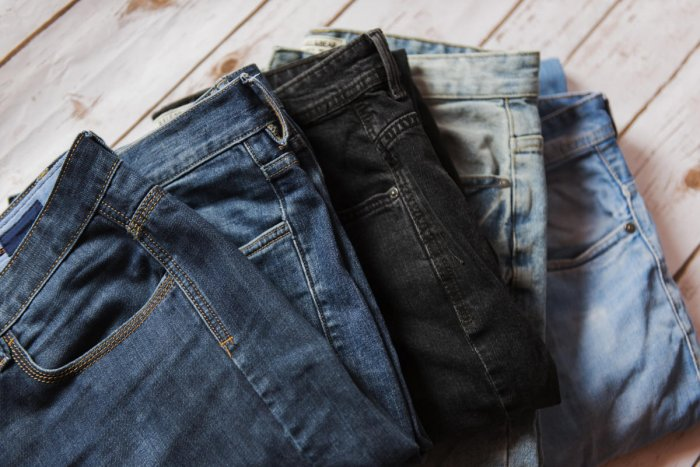 Don't wash your denims too often to keep the colours fresh.