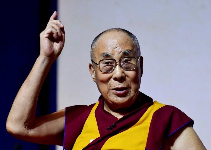 Tibetan spiritual leader, the 14th Dalai Lama. PTI file photo