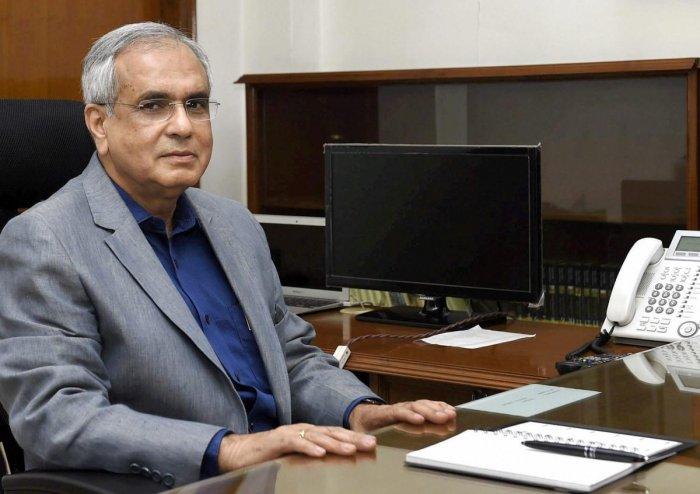 Niti Aayog Vice Chairman Rajiv Kumar. PTI file photo
