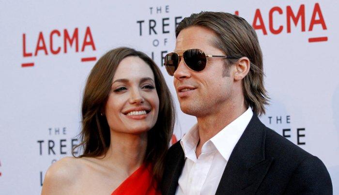 Brad Pitt and actress Angelina Jolie. (REUTERS File Photo)