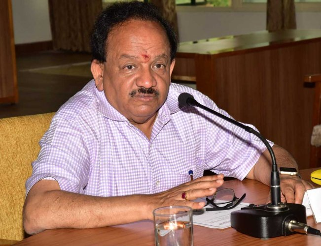 Union Science and Technology Minister Harsh Vardhan. DH file photo