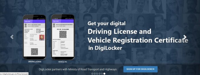 Citizens have raised the issue that the documents available in DigiLocker or the mParivahan app are not considered valid by the traffic police or the motor vehicles department when asked to produce.