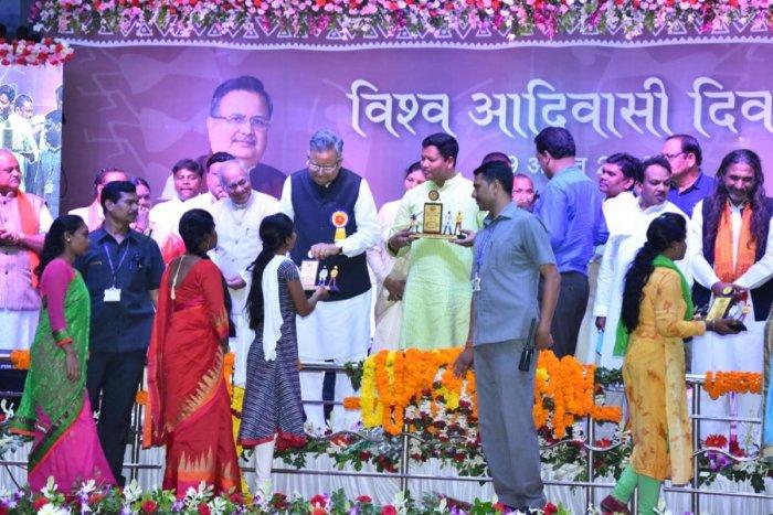Chhattisgarh Chief Minister Raman Singh's Tribal outreach.