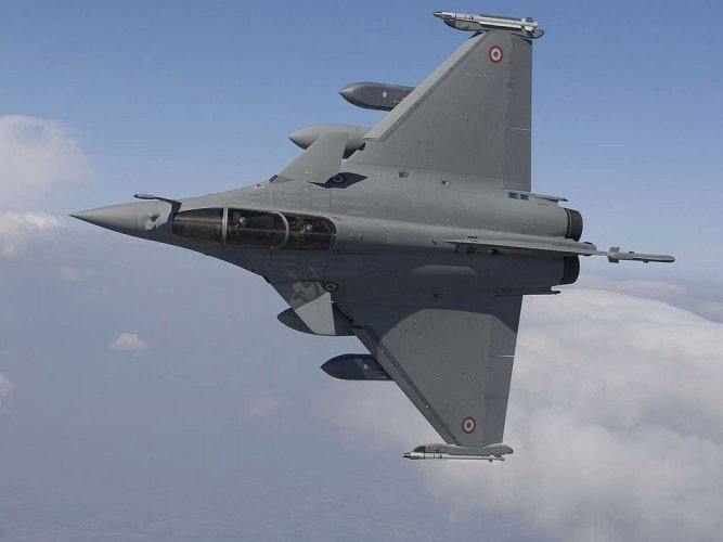 This caustic remark attacking the BJP-led government was made in the Lok Sabha by Congress MP Rajesh Jakhar, on Friday, before his party members staged a walkout after a noisy protest demanding the setting up of a joint parliamentary committee (JPC) to probe an alleged scam in the Rafale fighter jet deal. File photo