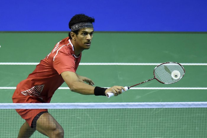 India's Ajay Jayaram made the Vietnam Open title round on Saturday. AFP File photo.