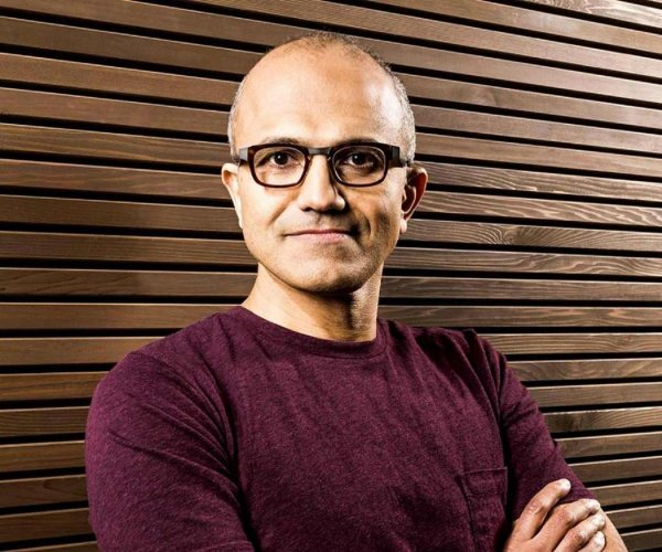 Nadella, still own 778,596 shares of common stock. He is required to have 15 times his base salary in stock. (File Photo)