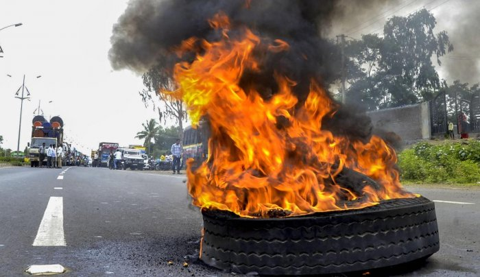 The Supreme Court said nobody can burn down properties, either public or private.