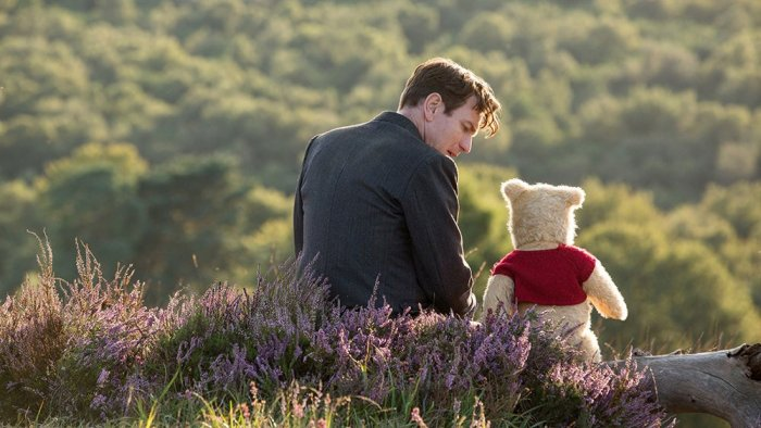 Christopher Robin is treacly sweet, but not sickly. Image Courtesy: Twitter