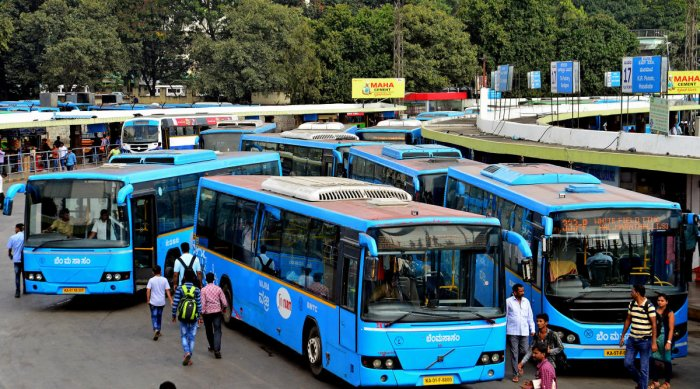 Many commuters of BMTC Volvo buses prefer taking cabs as a last-mile connectivity option. High cab fares could affect them
