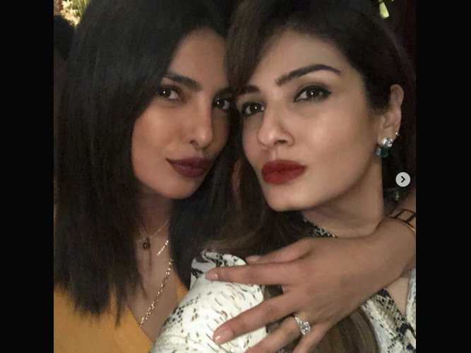 """Priyanka Chopra was photographed with what appears to be an """"engagement ring"""" from rumoured beau Nick Jonas."""