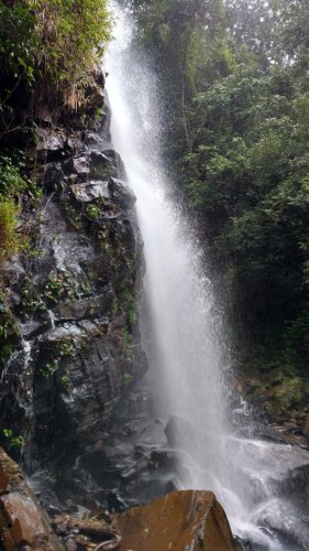 Elaneer Falls is about 297 km from Bengaluru