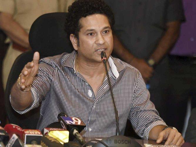 """Sachin Tendulkar described the former India captain as a big """"influence""""."""