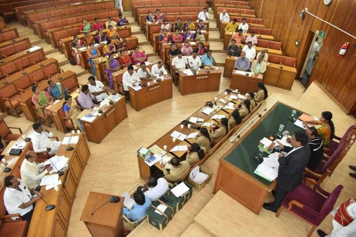 The iPads were given to the corporators to make BBMP council proceedings paperless