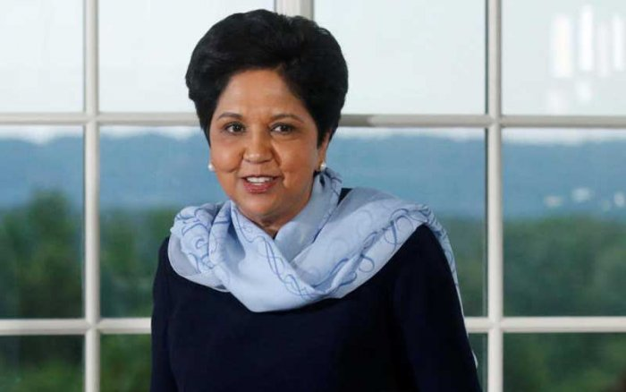 Nooyi's journey from growing up in conservative Madras to helming one of the world's largest food and beverage firms is awe-inspiring. (Reuters File Photo)