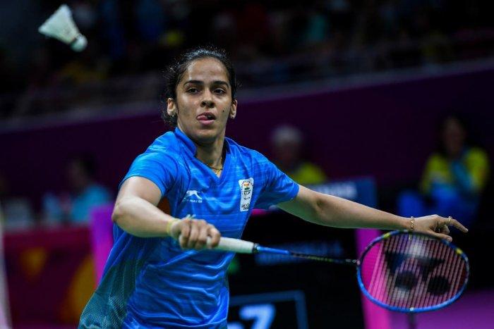 Saina Nehwal will be targeting a strong show at the Asian Games. AFP FILE PHOTO