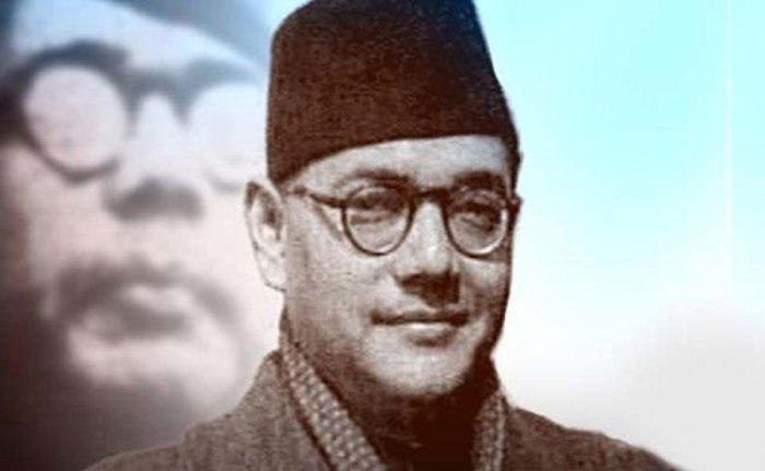 Netaji Subhas Chandra Bose.
