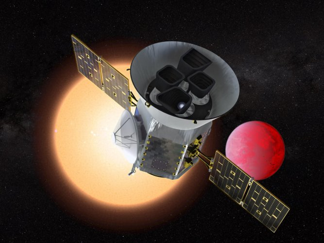 Data from the exoplanet-hunting Kepler Space Telescope and the Gaia mission indicates that many of the known planets may contain as much as 50 per cent water. (NASA file photo for representation. Via AFP)